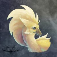 Painty Firequill Head by Firequill