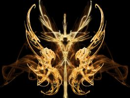 Fractal: Ethereal Wings by Zilleniose