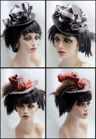 New Victorian Riding Hat desig by Elemental-Sight