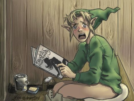 I am SO blackmailing Link now by animetayl