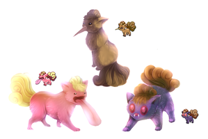 Pokemon morphs