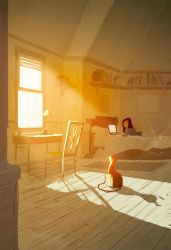 The right  spot by PascalCampion