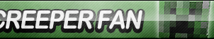Creeper Fan Button (Resubmit) by ButtonsMaker