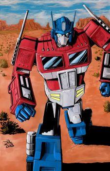 Optimus Prime by DougHills
