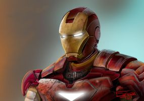 IRON MAN by ramonespinoza