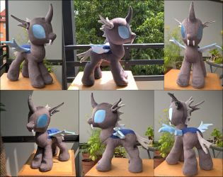 MLP Changeling Plush Final by JusticeOfElements