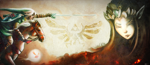 Fight For The Triforce by Zita52