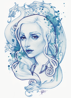 Mother of dragons by Medusa-Dollmaker