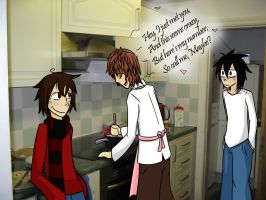 Call Me Maybe - Death Note Kitchen Edition by Charlockle