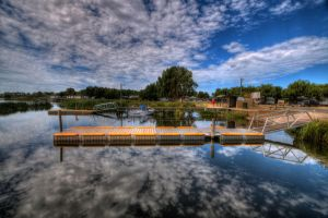 Lake Purrumbete by daniellepowell82