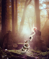 Full Image - Forest Friends by Vellum-Graphics