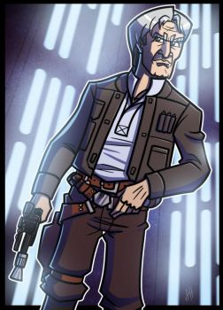 5 of 9 - Han Solo by JoeHoganArt