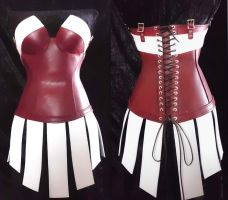 Corset With Skirting by WildeMaide
