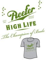 High Life - Classic Label by AliceGraphix