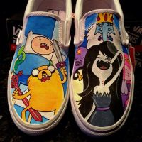 Adventure Time Vans Character Collection by VeryBadThing