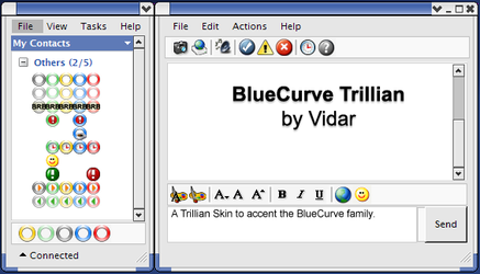 BlueCurve Trillian V. 2B by vidar