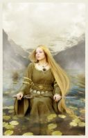 Lady of the lake by Pellury