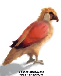 Aa366plus 2015-010-08 Day568 No-021 Spearow by AA366PLUS