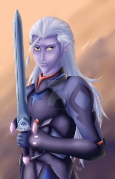 Prince Lotor by Rin-Claymore