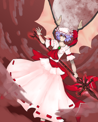 The scarlet devil by Aculka