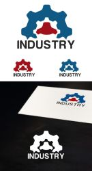 Free Industrial logo by isfahangraphic