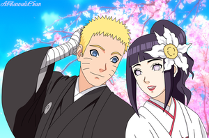 NaruHina Weeding by AiKawaiiChan