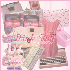 PNG PACK - Pink Stuff by chazzief