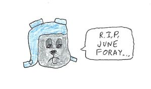 Rocky - R.I.P. June Foray by dth1971