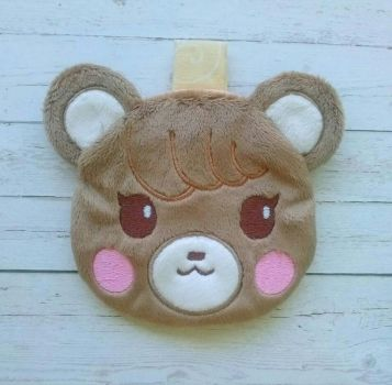 Animal Crossing: Maple Zipper Pouch by sugarstitch