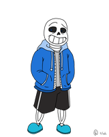 Little Bone Bro Sans by MarioKid97