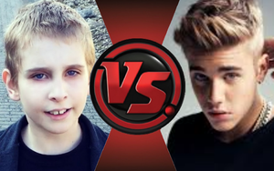 CFC Ideas|Misha vs. Justin Bieber by Vex2001