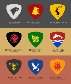 [GoT] House Sigils by taidoan