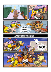 The Great Chocobo Race page 1 by Trevor-Fox