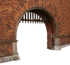 Fortress gates PNG 02 by dreamlikestock
