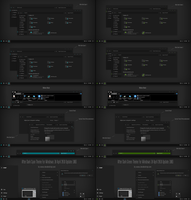 After Dark Cyan and Green Theme Win10 1803 Update2 by Cleodesktop
