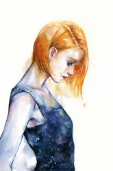 heliotropic girl by agnes-cecile