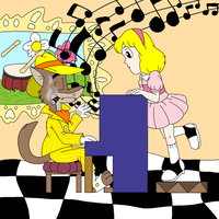 Playing a little tune by Mister-Meade