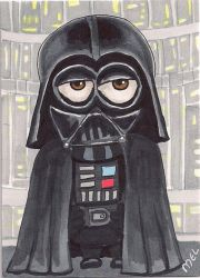 Darth Vader Minion by Purple-Pencil
