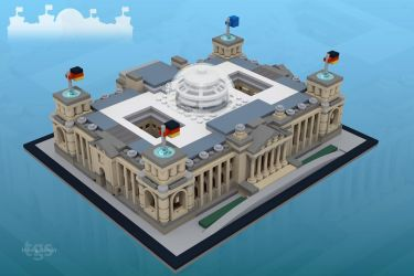 Reichstag Building Berlin by JNLN