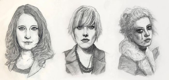 Portraits by Nightlong86