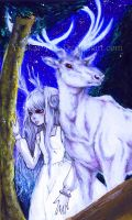 White Stag- Ghost of you by Youkai-Yoko