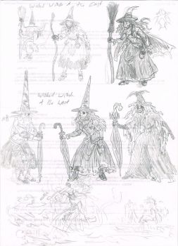 Wicked Witches of Oz Character Designs by Hand-Sam-Art