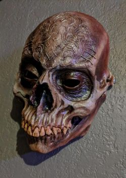 Human Skull Mask by Forgess
