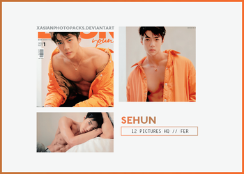 Photopack 2530 // SEHUN (EXO) by xAsianPhotopacks