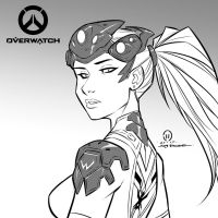 Widowmaker sketch by JoeyVazquez