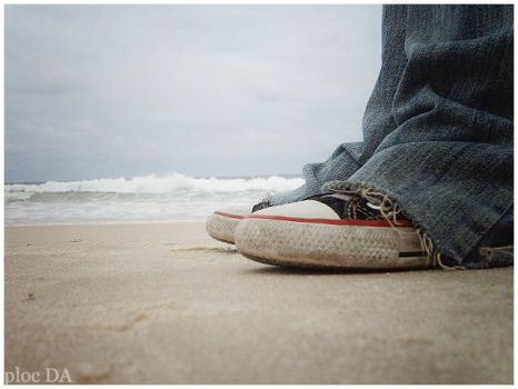 Shoes and Waves by ploc