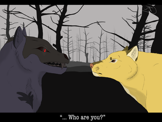 {Contest} Who are you? by Nitty-Kitty