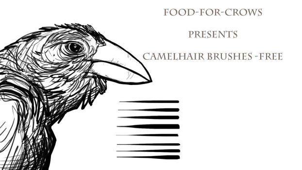 Camelhair Brush Set - Free by Food-For-Crows