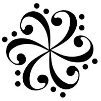 bass clef flower 2 by ninquelote