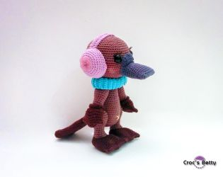 Katy the Platypus by Crocsbetty